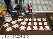 Имбирное печенье. Стоковое фото, фотограф Андрей Гривцов / Фотобанк Лори