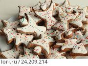 Печенье ангелочки. Стоковое фото, фотограф Андрей Гривцов / Фотобанк Лори