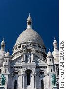 Купить «Базилика Святого сердца, Париж, Франция», фото № 24209426, снято 23 июля 2012 г. (c) Виталий Батанов / Фотобанк Лори