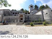 Купить «Цетиньский монастырь летом, Цетинье, Черногория», эксклюзивное фото № 24216126, снято 24 июля 2015 г. (c) Алексей Гусев / Фотобанк Лори