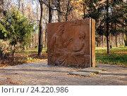 Купить «Памятник Кашириной А.И. в Нижнем Новгороде», эксклюзивное фото № 24220986, снято 24 октября 2016 г. (c) Голованов Сергей / Фотобанк Лори