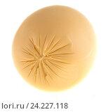 Купить «Головка сыра, изолированно на белом фоне», фото № 24227118, снято 7 августа 2016 г. (c) Литвяк Игорь / Фотобанк Лори