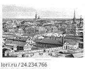 Купить «Екатеринбург, начало XX века», иллюстрация № 24234766 (c) Инна Грязнова / Фотобанк Лори