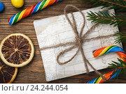 Купить «Письмо Деду морозу на Новый год», фото № 24244054, снято 19 ноября 2016 г. (c) Сергей Чайко / Фотобанк Лори