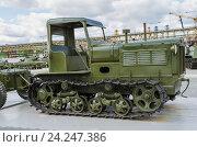 Трактор СТЗ 3 (2015 год). Редакционное фото, фотограф Сергей Завьялов / Фотобанк Лори