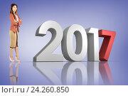 Купить «2017 new year», фото № 24260850, снято 21 января 2020 г. (c) Wavebreak Media / Фотобанк Лори