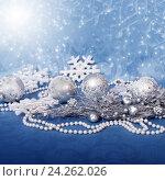 Купить «Christmas decorations», фото № 24262026, снято 15 января 2014 г. (c) ElenArt / Фотобанк Лори