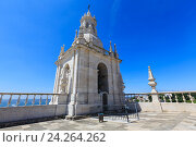 Купить «Church roof in Lisbon, Portugal.», фото № 24264262, снято 18 мая 2016 г. (c) Юрий Брыкайло / Фотобанк Лори