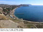 Красивый крымский пейзаж, эксклюзивное фото № 24279246, снято 18 октября 2016 г. (c) Яна Королёва / Фотобанк Лори