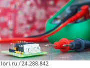 Setup, repair of electronic equipment. Develop or hobby-related electronics., фото № 24288842, снято 29 ноября 2016 г. (c) Александр Якимов / Фотобанк Лори