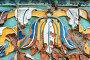 Наливной изразец, Церковь Николая Чудотворца. Ярославль, эксклюзивное фото № 24302850, снято 9 июля 2016 г. (c) Юрий Запорожченко / Фотобанк Лори