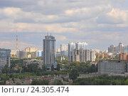 Город Самара летом. Редакционное фото, фотограф Павел Бурочкин / Фотобанк Лори