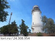 Купить «Керченский маяк», фото № 24308954, снято 20 июля 2016 г. (c) Slasha / Фотобанк Лори