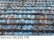 Купить «Типовой гаражный кооператив в России», эксклюзивное фото № 24315178, снято 4 декабря 2016 г. (c) Александр Тарасенков / Фотобанк Лори