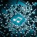 Музыкальная нота на компьютерном чипе, фото № 24318258, снято 16 февраля 2016 г. (c) Евдокимов Максим / Фотобанк Лори