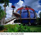 "Купить «The USA' Florida, Orlando, planet Hollywood, ""RIGHTS SEPARATELY CATCH UP""», фото № 24325630, снято 23 апреля 2019 г. (c) mauritius images / Фотобанк Лори"