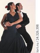 Купить «Spain, folklore, dance couple Spaniard, Spaniard, dance, dance, flamenco compensating roller, printout, elegance, style, flamenco, passion, compensating...», фото № 24326398, снято 21 мая 2003 г. (c) mauritius images / Фотобанк Лори