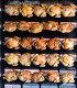 Juicy chicken grilled on rolling spit in store, фото № 24365198, снято 7 декабря 2016 г. (c) Яков Филимонов / Фотобанк Лори