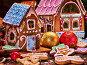 Small gingerbread house closeup., фото № 24365434, снято 5 декабря 2016 г. (c) Gennadiy Poznyakov / Фотобанк Лори