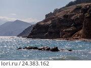Купить «Coastal landscape in Croatia», фото № 24383162, снято 16 июля 2018 г. (c) mauritius images / Фотобанк Лори