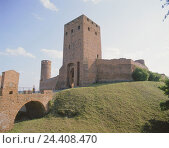 Купить «Poland, Czersk, city fortification, military tower, Europe, town, city wall, tower, builds in 1200-1300, seat the masowischen dukes, structure, architecture, place of interest, stairs, tourist», фото № 24408470, снято 4 октября 2005 г. (c) mauritius images / Фотобанк Лори