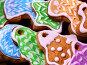 Set of colored cookies close up., фото № 24419366, снято 30 ноября 2016 г. (c) Gennadiy Poznyakov / Фотобанк Лори