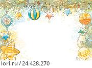 Купить «Новогодний фон», иллюстрация № 24428270 (c) Елисеева Екатерина / Фотобанк Лори