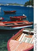 Купить «Greece, island Paxos, Gaios, harbour, boots summer, Ionian islands, Corfu, sea, Paxos», фото № 24430078, снято 12 марта 2002 г. (c) mauritius images / Фотобанк Лори
