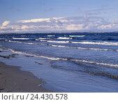 Купить «Sea, Wokenhimmel, beach, waters, ocean, horizon, width, distance, endlessness, waves, heavens, blue, clouds, nature», фото № 24430578, снято 28 января 2003 г. (c) mauritius images / Фотобанк Лори