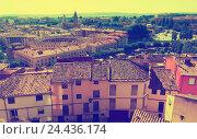 Купить «Top view of Tarazona», фото № 24436174, снято 23 января 2019 г. (c) Яков Филимонов / Фотобанк Лори