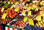 Рынок с разнообразными фруктами в городе Нюрнберг. Германия, фото № 24439642, снято 29 ноября 2016 г. (c) Alexander Tihonovs / Фотобанк Лори