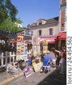 Купить «France, Paris, Montmartre, street sales, painting, no model release!, Europe, Department Ville de Paris, town, capital, part town, city centre, artist...», фото № 24454562, снято 3 января 2006 г. (c) mauritius images / Фотобанк Лори