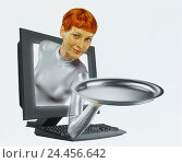 Купить «Icon, online service, offer, computer, woman, tablet, Composing cut out, offer, providers, services, customer's catch, Internet, Internet offer, e-commerce, overall, silver, present, presentation», фото № 24456642, снято 9 марта 2001 г. (c) mauritius images / Фотобанк Лори
