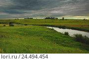 Купить «Летний пейзаж», фото № 24494454, снято 8 июля 2016 г. (c) Валерий Боярский / Фотобанк Лори