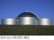 Купить «Iceland, Rekjavik, Perlan, hotwater accumulator,», фото № 24501462, снято 20 мая 2009 г. (c) mauritius images / Фотобанк Лори