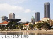 Купить «Singapore, Singapore town, town view, Supreme Court, detail,», фото № 24518986, снято 20 января 2010 г. (c) mauritius images / Фотобанк Лори