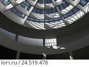 Купить «Picture gallery the modern age, interior shot, roof, detail, curled, Germany, Bavaria, Munich, state capital,», фото № 24519478, снято 22 января 2010 г. (c) mauritius images / Фотобанк Лори