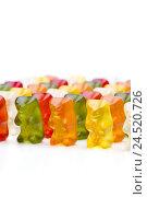 Купить «Little elastic bears, different colour,», фото № 24520726, снято 15 октября 2009 г. (c) mauritius images / Фотобанк Лори