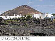 Купить «Spain, Canary islands, Lanzarote, Taro de Tahiche, Fundacion Cesar Manrique, museum, volcano scenery,», фото № 24521162, снято 15 апреля 2009 г. (c) mauritius images / Фотобанк Лори