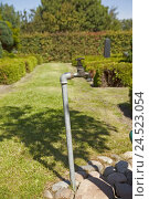 Купить «Cemetery, tap,», фото № 24523054, снято 15 августа 2009 г. (c) mauritius images / Фотобанк Лори