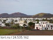 Купить «Spain, the Canaries, Lanzarote, village Uga,», фото № 24535162, снято 25 мая 2010 г. (c) mauritius images / Фотобанк Лори