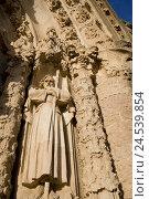 Купить «Spain, Catalonia, Barcelona, Tibidabo, Temple expiatori del Sagrat Cor, detail,», фото № 24539854, снято 16 декабря 2017 г. (c) mauritius images / Фотобанк Лори