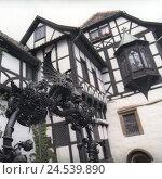 Купить «Germany, Thuringia, Eisenach (town), Wartburg (castle), castle cafe, outside,», фото № 24539890, снято 22 сентября 2018 г. (c) mauritius images / Фотобанк Лори
