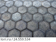 Купить «Paving-stones, the Balearic Islands, Majorca, Spain, stones, paved, sample, hexagon, background,», фото № 24559534, снято 12 января 2011 г. (c) mauritius images / Фотобанк Лори