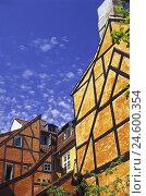 Купить «Denmark, Copenhagen, half-timbered houses, backyard,», фото № 24600354, снято 15 августа 2018 г. (c) mauritius images / Фотобанк Лори