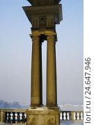 Купить «Austria, Vienna, Schönbrunn, pillar in the ramp to the Gloriette,», фото № 24647946, снято 15 февраля 1988 г. (c) mauritius images / Фотобанк Лори