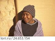 Купить «Africa, southern Africa, Lesotho, early Basutoland, province of Butha Buthe, Mafika Lisiu, Drakensberge, Maloti mountains, highlands, girls wall of a house leant, smile, view camera,», фото № 24653154, снято 28 мая 2018 г. (c) mauritius images / Фотобанк Лори