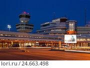 Купить «Berlin, airport Tegel before closure,», фото № 24663498, снято 26 мая 2019 г. (c) mauritius images / Фотобанк Лори