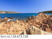 Купить «Bile formations and the azure Mediterranean Sea, Italy, Sardinia,», фото № 24673138, снято 19 июля 2018 г. (c) mauritius images / Фотобанк Лори