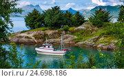 Купить «Beautiful Nature Norway.», видеоролик № 24698186, снято 9 декабря 2016 г. (c) Андрей Армягов / Фотобанк Лори